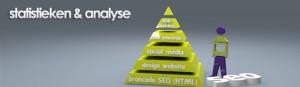 pyramide statistieken en analyse