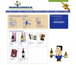 webshop drankbezorgen.nl door Dommelweb