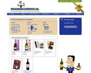 Webdesign Drankbezorgen.nl
