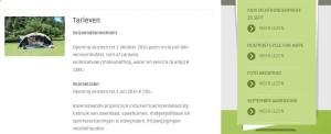 Website inhoud Eurocamping Vessem