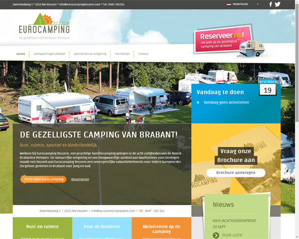 Website Eurocamping