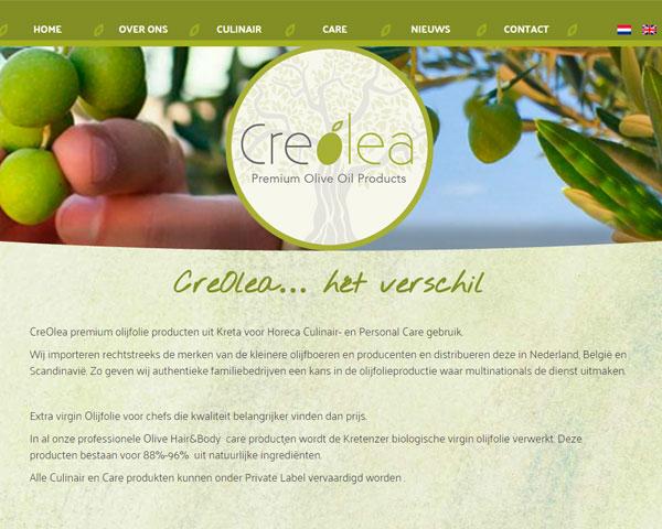 Creolea, grootverbruik olijfolie