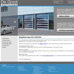 website voor bedrijf in garagedeuren